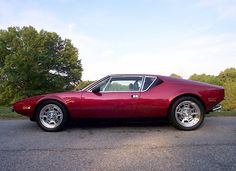 Pantera. My dad had a red one when I was a kid. Still a cool looking, muscled up sports car.