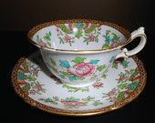 Shelley Wileman Foley  Cup and Saucer