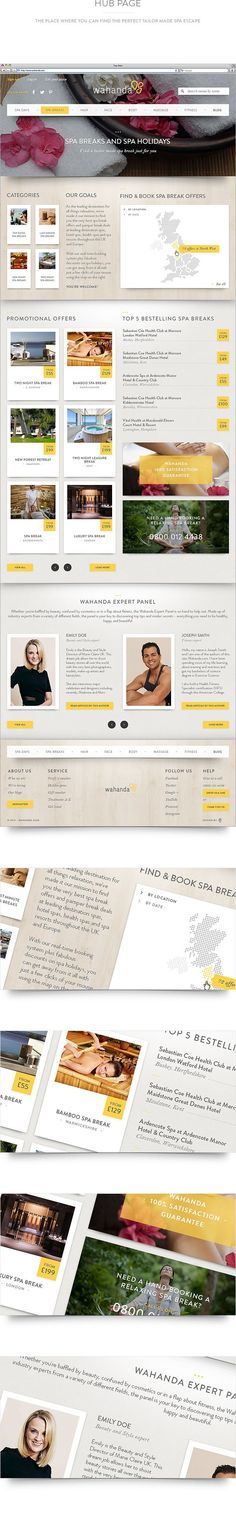 Flat Website design examples (22)