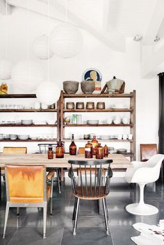 8 Genius Kitchen Organization Ideas via @domainehome