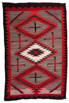 Navajo Ganado Weaving / Rug  : Lot 198