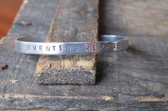 Eventing Hippie Aluminum Cuff