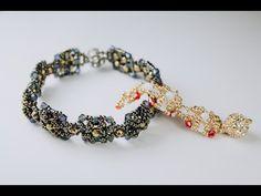 Узенький браслет с кристаллами - YouTube
