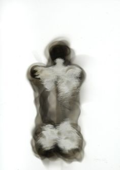Stephen Spazuk Soot on paper