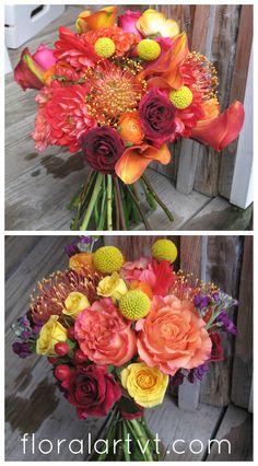 Indian Wedding Flowers #IndianWedding #VermontWedding via floralartvt.com #VermontWeddingFlowers