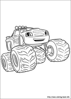 Blaze And The Monster Machines Coloring Pages Printables Coloring Pages For Kids Monster Coloring Pages Coloring Pages