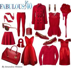 Aurora Red takes center stage this fall. See more at Fabulous After 40: http://www.fabulousafter40.com/top-10-fall-colors-to-step-up-your-style/