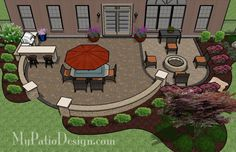 Patio for Entertaining and Fun - Patio Designs & Ideas
