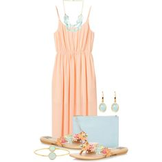 """""""Summer Pastels"""" by cathy0402 on Polyvore"""