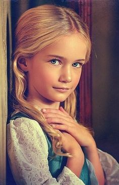 Russian child model Marta Krylova.