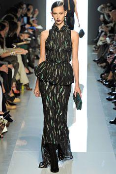 Bottega Veneta Fall 2012 Ready-to-Wear Fashion Show - Ruby Aldridge