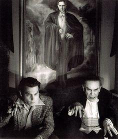 Johnny Deep & Martin Landau in Tim Burton's Ed Wood.