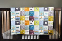 birch fabrics camp sur quilt - cheater patchwork print