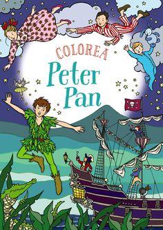 Colorea Peter Pan Rachel Cloyne