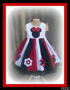 Oh MINNIE  Girls' Minnie Mouse Party or Pageant by theposiepatch, $39.99