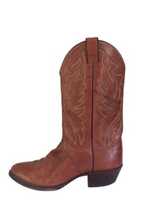 af806d813b0 Justin Cowboy Boots Size 12 D Rust Brown Men Imperfect Country Western  Leather  JustinBoots