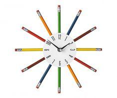 Zegar ścienny Pencils
