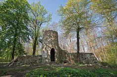 Gutspark Groß Glienicke, romantische Burg