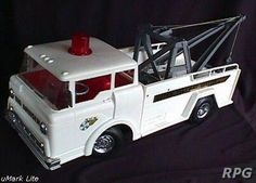 Big Bruiser Tow Truck by Remco I didn't have this but I wanted it