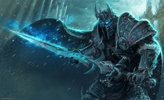 This fan art friday is all about Arthas Menethil, the Lich King from Blizzard Entertainment's World of Warcraft. Art Warcraft, World Of Warcraft 3, World Of Warcraft Characters, Arthas Menethil, Lich King, Wow World, Death Knight, Heroes Of The Storm, Medieval