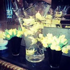 #flowers #orchids #tulips #yellow #winter #flemingshotel #flemingsmayfair