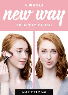 By now, you may think you know the best way to apply blush when doing your makeup, but we have a new way to apply the product that you my have never considered. Follow our tips for applying blush in a new way when you read this guide and tutorial!