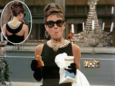 Breakfast at Tiffany's, Audrey Hepburn | Breakfast at Tiffany 's Black Diamond Audrey Hepburn donned this Givenchy satin evening gown as Holly Golightly in the 1961 classic for a very significant…