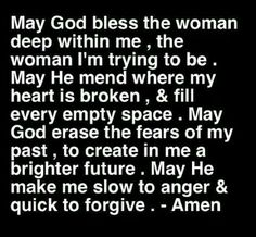 My prayer for every man and woman traveling life's journey... for life truly is not easy...