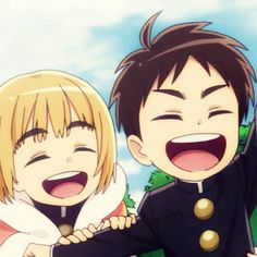 Armin, Attack On Titan, Chibi, Shingeki No Kyojin