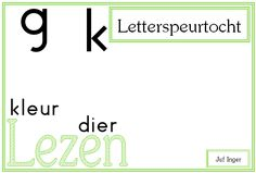 letterspeurtocht - juf Inger