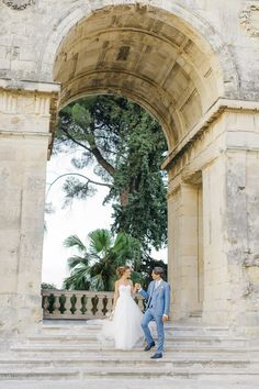 Newlyweds having some post ceremony portraits while an Old World micro wedding in Corfu Island Corfu Wedding, Greece Wedding, Corfu Island, Island Weddings, Greek Islands, Newlyweds, Old World, Delicate, Portraits