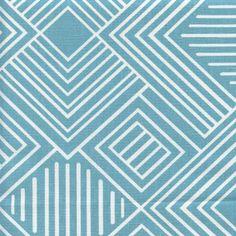 Phase Coastal Blue Cotton Contemporary Drapery Fabric Premier Prints - 56636 | BuyFabrics.com