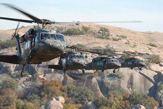 UH-60 Blackhawks