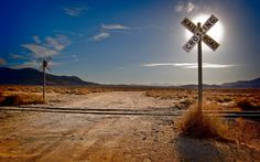 desert railroad wallpaper 16485