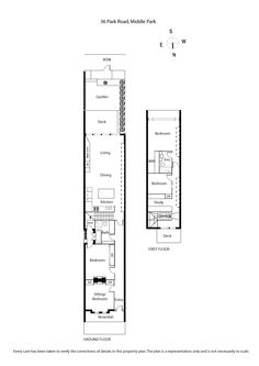 Floor Plan: Useful for seeing how we would like the staircase and study. In our plans you walk up the stairs and turn right. This could also be used as a light-well, into the kitchen area.