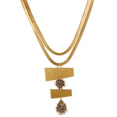 Golden Pearl Cluster Layered Necklace worn by Kareena Kapoor