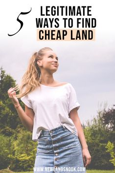 Want to build your own home but struggling to find land within budget? Check out the 5 Legitimate ways to find cheap land that have been tried and tested!
