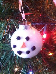 Homemade ornaments cheap and fun
