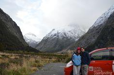 Carretera Milford Sound Nueva Zelanda
