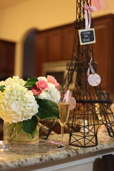 From Paris, with love! A french themed baby shower