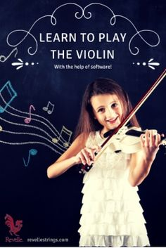 Software that helps you learn the violin.