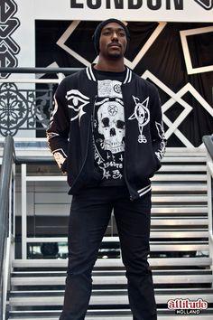 #Style #Man #Skull #whattowear www.attitudeholland.nl