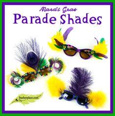 Mardi Gras Parade Shades Cover
