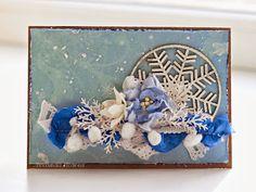 Зимняя открытка от Людмилы