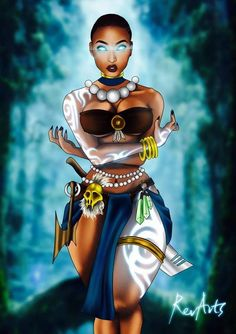 These beautiful depictions of perfect beauty are shown through graphic art, paintings and sculptures. Sexy Black Art, Black Love Art, Black Girl Art, Black Girl Magic, Art Girl, African American Art, African Art, Arte Black, Black Comics