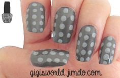 Nail Art : Polka dots 3 ways | This time, I'm going to be showing you how do make polka dots. And to do so, you can choose between 3 methods : the usual way which is using a toothpick, or a bobepine or a toothpick !