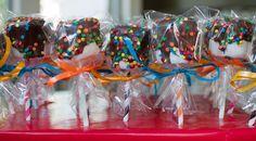 Traktatie marshmallow pops