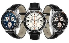 Blue, white or black? Pick your favorite at www.lemarqwatches.com