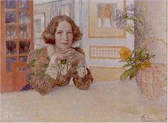 Carl Larsson Anna-Stina Alkman 1905