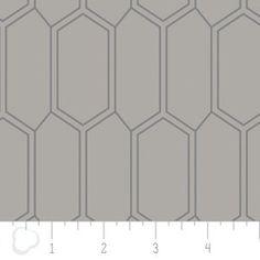 Camelot Cottons House Designer - Emilia - Bees Nest in Zinc